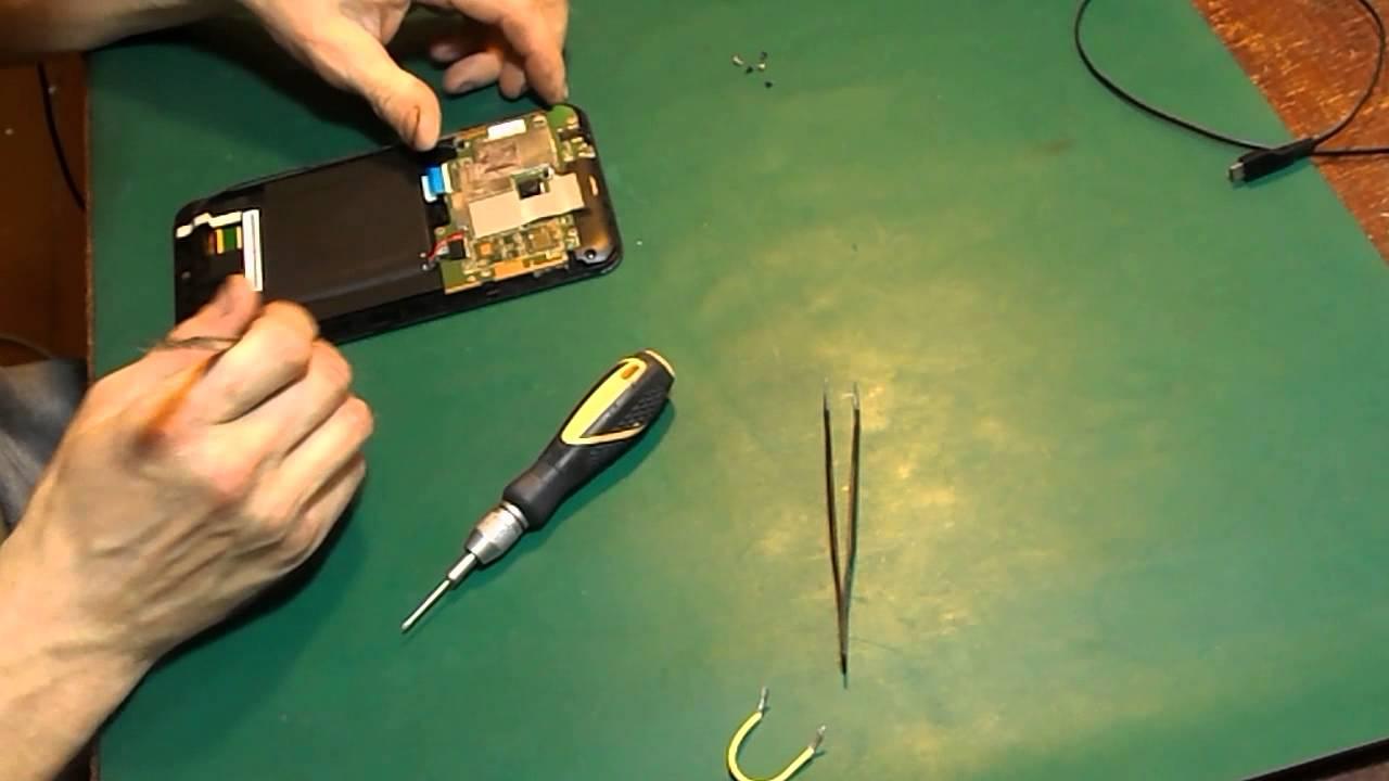 На ремонте планшет ASUS 7 дюймов. модель: K01A. Не заряжается .