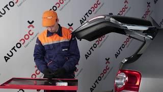 Come sostituire le lampadine della targa su VW PASSAT B6 [TUTORIAL]