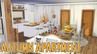 THE SIMS 4 SPEED BUILD // AUTUMN APARTMENT