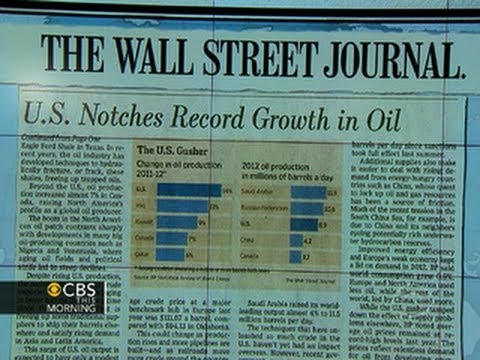 Headlines: U.S. oil production makes record increase