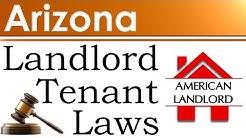 Arizona Landlord Tenant Laws | American Landlord