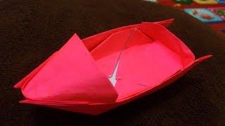 Cara Membuat Origami Perahu Motor keren | Origami Perahu