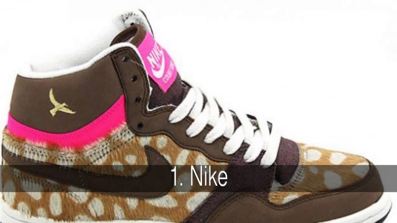 fea1f24d Las marcas de zapatillas más famosas