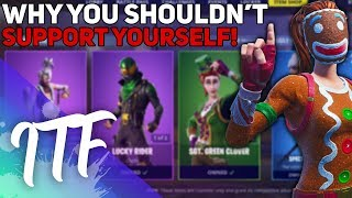 Stop Using Your Own Support A Creator Code! (Fortnite Battle Royale)