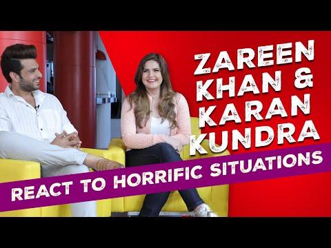 Up close & spooky with Karan Kundra & Zareen Khan| RJ Prerna