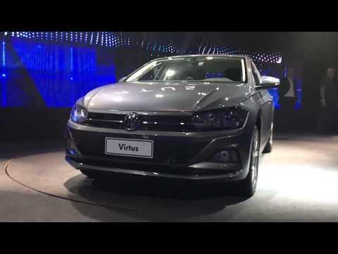 Volkswagen Virtus - Motores, itens de série e tecnologias/ Vrum Brasília