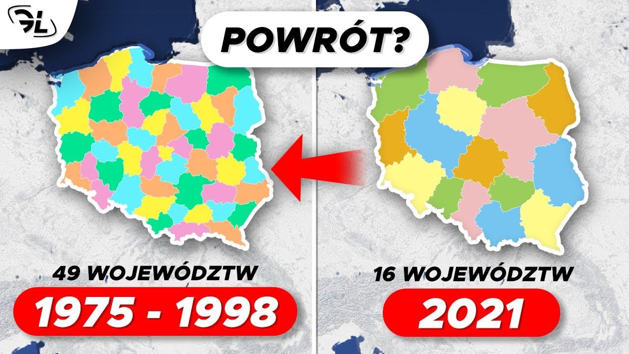 Co gdyby Polska wróciła do 49 województw?
