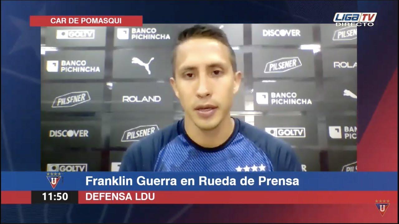 Rueda de Prensa | LDU | Franklin Guerra