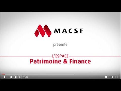 Découvrez l'espace Patrimoine & Finance sur macsf.fr