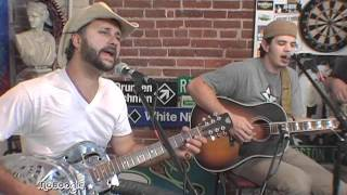 "THE BAND OF HEATHENS ""Hey Rider"" - acoustic @ the MoBoogie Loft"