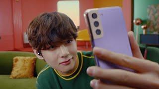Galaxy S21 Series 5G: Day Epic of BTS – Selfie Mode   Samsung