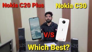Nokia C20 Plus vs Nokia C30 Confirm India Launch date & Price   Specs   Review   Compare
