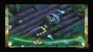 Luxor 3 Nintendo Wii Gameplay - Adventure Mode