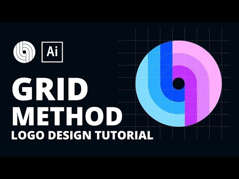 Abstract Logo Design Tutorial - Using Grid Method thumbnail