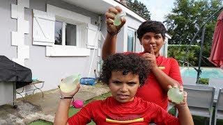 Bataille de Bombes à eau !  adel sami les boys tv