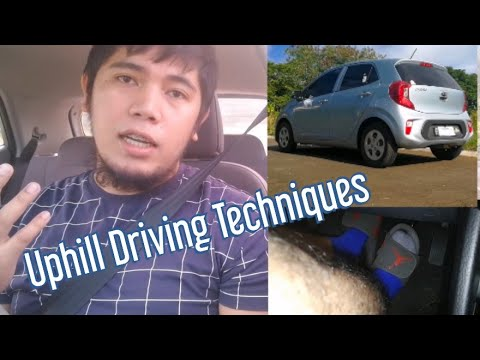 Huwag na matakot mag drive sa Bitin   Uphill Stop and Go Driving Tutorial   Paano mag timpla