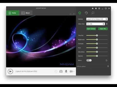 """MyCam - the """"Camera"""" app for Windows"""