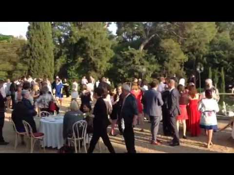 Vin d'honneur mariage château de barbegal