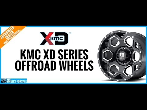KMC XD Series Offroad Wheels - 10% Off Wheel and Tire Packages