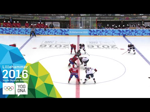 Ice Hockey - Men's Preliminaries - Norway Vs USA | Lillehammer 2016 Youth Olympic Games
