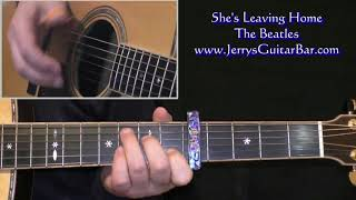 The Beatles She's Leaving Home Intro Lesson