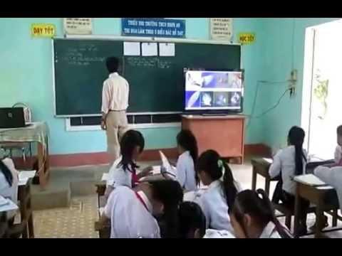 Trường THCS Nhơn An. video bài giảng PPDH bàn tay nặn bôt môn Sinh học lớp 7