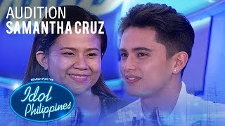 Samantha Cruz - Come On In Out of The Rain | Idol Philippines 2019 Auditions