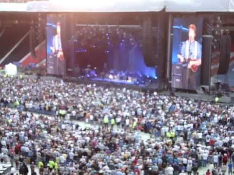 Paul McCartney - Something - Hampden Park Glasgow 20.06.2010 Up And Coming Uk Tour