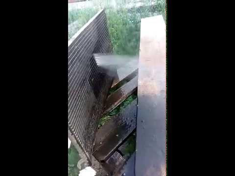 Опель Вектра С, мойка радиатора кондиционера