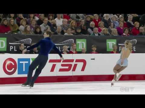 Camille Ruest / Drew Wolfe 2017 Canadian National Figure Skating Championships - FS