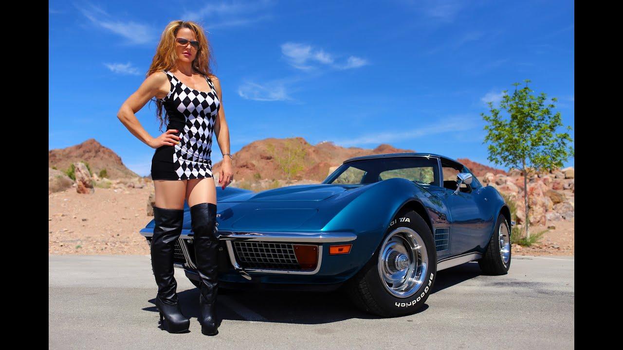 Chevrolet Las Vegas >> 1972 Chevrolet Corvette As New Test Drive Viva Las Vegas Autos