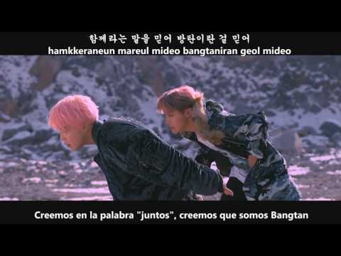 BTS - Not Today (Sub español - Hangul - Roma)