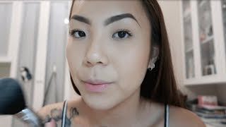 ASMR Roleplay l Let me do your makeup! [Personal attention, Face brushing, Tapping, Whispered]