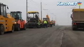 Керчь: ремонт горьковского моста