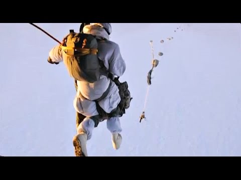 Army Paratroopers Jump Into the Arctic