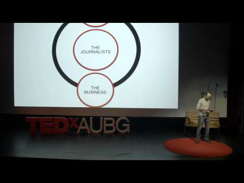 The way press freedom influences a society's perception of reality | Vesselin Dimitrov | TEDxAUBG