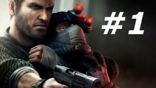 Splinter Cell Conviction Gameplay Walkthrough Part 1-Intro