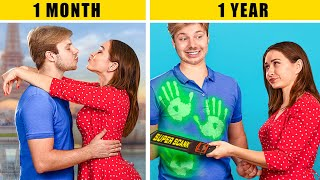 Relationship: 1 Month vs 1 Year