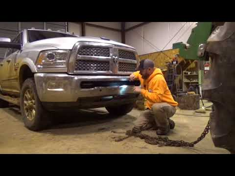 Trying to fix my front bumper on my Dodge Ram