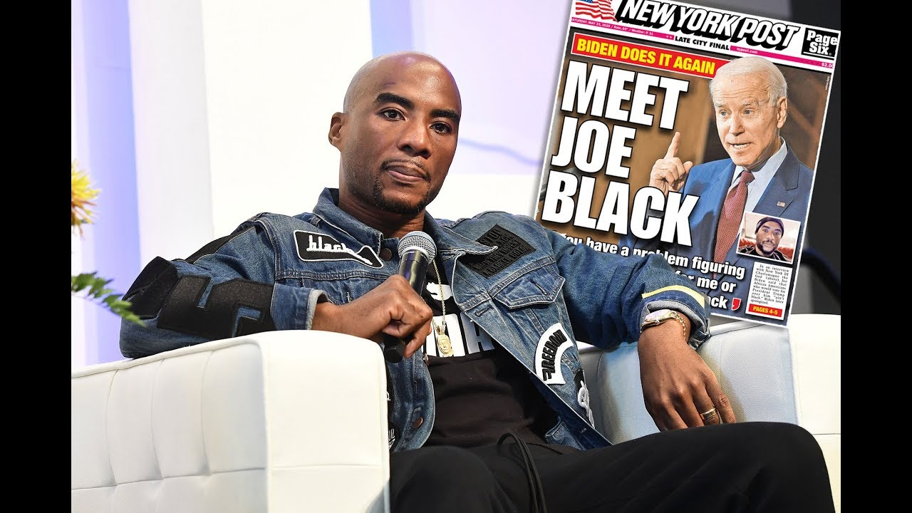 Charlamagne tha God rebukes Joe Biden after 'you ain't black ...