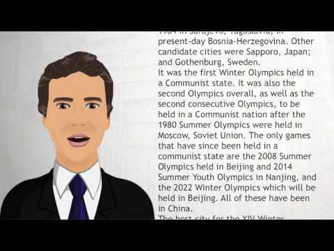 1984 Sarajevo, Yugoslavia now Bosnia and Herzegovina - Wiki Videos