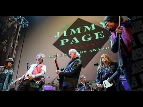 Jimmy Page Founders Award - Rock and Roll - EMP Museum - Seattle - 11-19-15