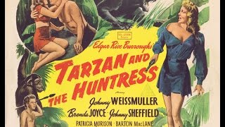 TARZAN AND THE HUNTRESS Movie Posters and Lobby Cards