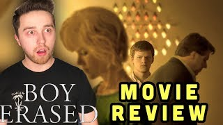Boy Erased - Movie Review (Lucas Hedges and Nicole Kidman movie )