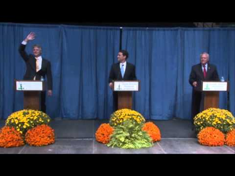 Andrew Hunt, Jason Carter and Nathan Deal debate for Governor of Georgia 10/07/14