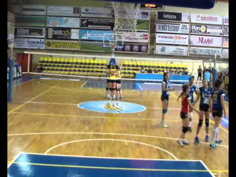 [D01W] 2014.10.19 OPE Rethimno - Iraklis Thessaloniki Women Volleyball