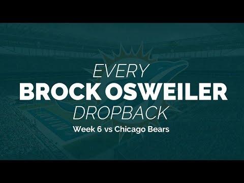 Every Brock Osweiler Dropback - Week 6 vs Chicago Bears