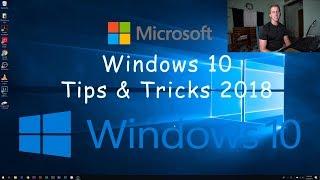 Windows 10 Tips & Tricks 2018 (OS optimization)