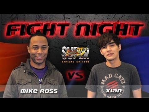 Fight Night Street Fighter - Mike Ross vs Xian - S01E01