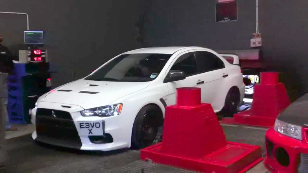 451bhp evo 10 massive flames backfire mitsubishi lancer evolution ten x rolling road dyno youtube - Mitsubishi Evolution 10